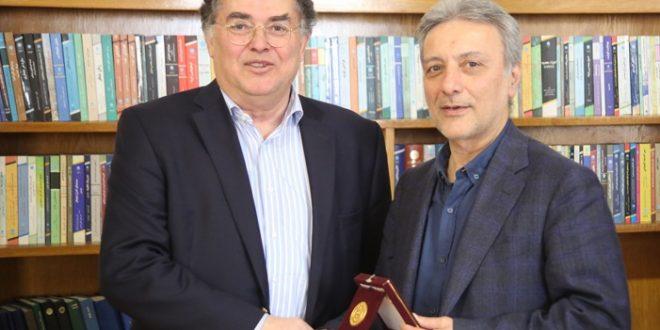 هیأت دانشگاهی کپنهاگ دانمارک با رئیس دانشگاه تهران دیدار کرد