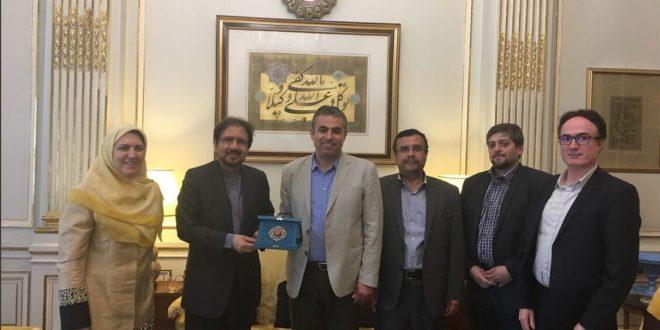 قاسمی برتقویت تعاملات دانشگاهی بین ایران و فرانسه تاکید کرد